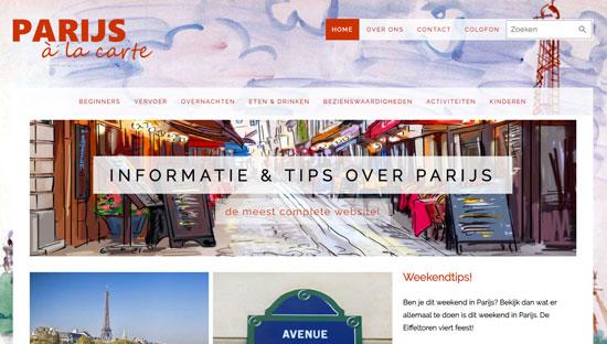 Parijs à la Carte