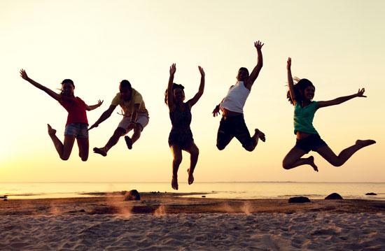 Vakantie voor tieners