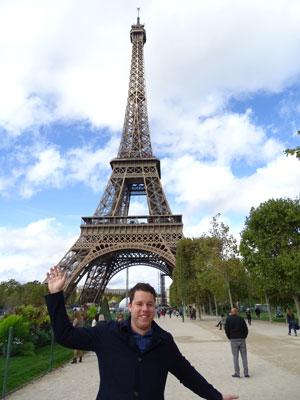 Foto met de Eiffeltoren