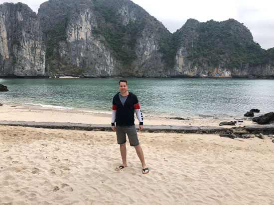Privé eiland Lan Ha Bay