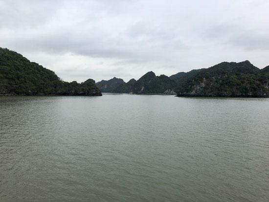 Uitzichten bij Lan Ha Bay