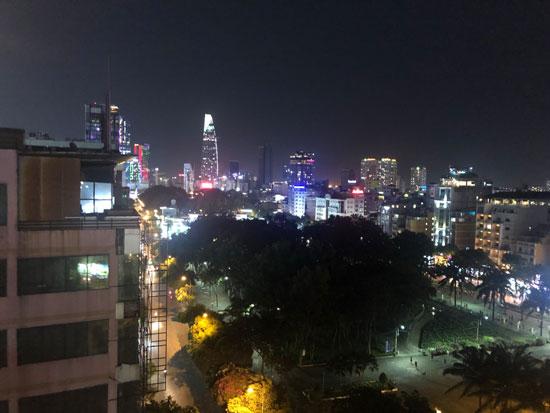 Sky high Ho Chi Minh