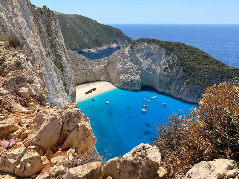 Shipwreck viewpoint Zakynthos