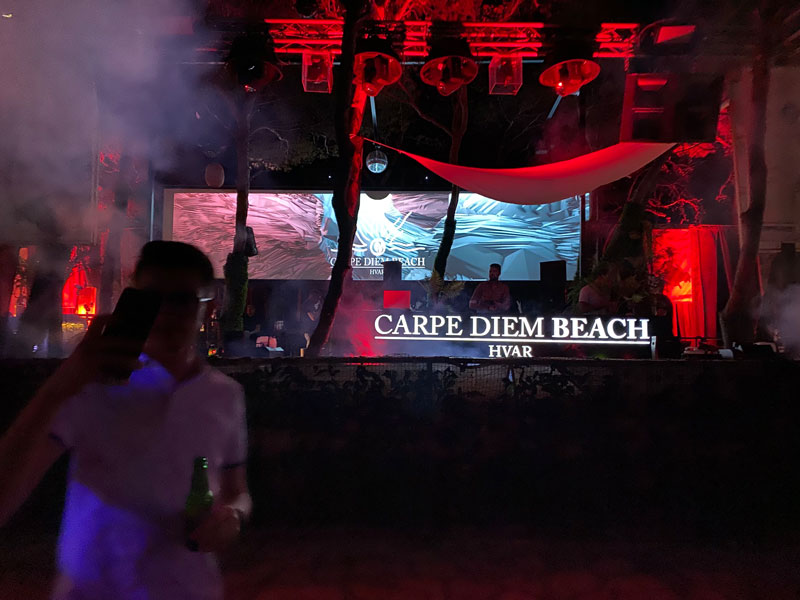 Club Carpe Diem Beach, Hvar