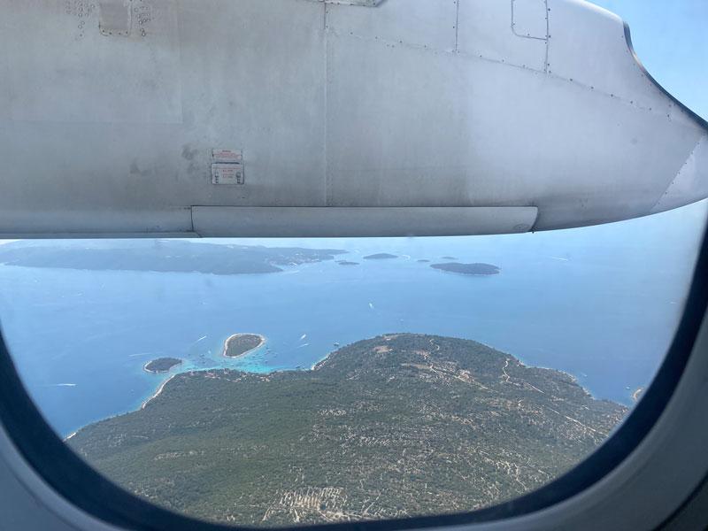 Vliegtuig Kroatië